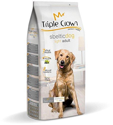 SBELTIC Crown Lot de 3 aliments pour chien avec tendance au surpoids 3 kg