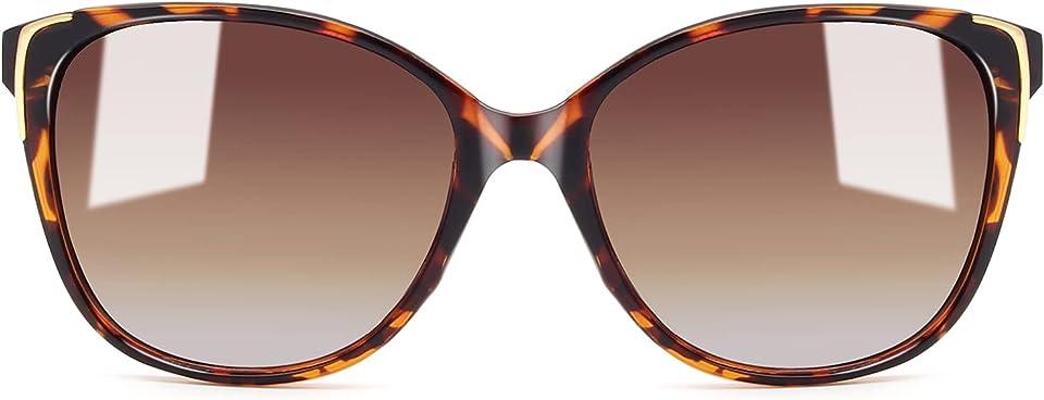 Classic Oversized Polarized Sunglasses for Women, Ladies Fashion Sun Glasses UV400 Protection