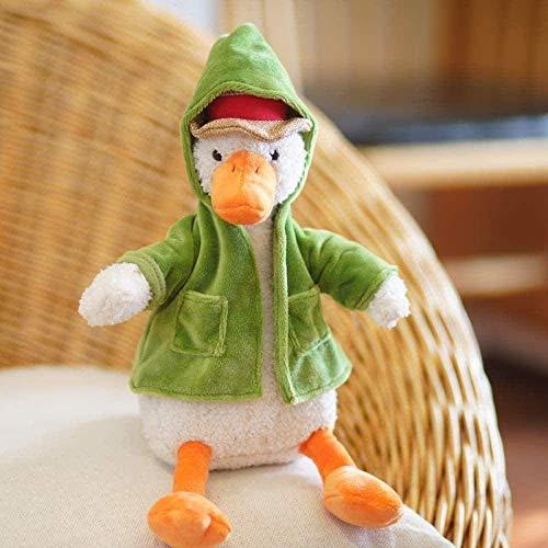 LINQ Gefüllte Plüsch Spielzeug Plüsch Figur Spielzeug Plüschtiere Hässlich Niedlich Netto Red Duck Puppe Ente Geburtstag 34 cm Plüsch Puppe Spielzeug (Farbe: Standard) Qianmianyuan (Color : Default)