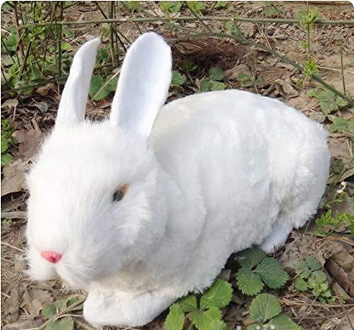 Osterdekoration Großes Künstliches Kaninchen / Kaninchenmodell Mit Kunstfell 36 * 8 * 22 Cm