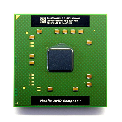 NEW AMD Mobile Sempron 3000+ 1.8GHz Socket/Sockel 754 Laptop CPU SMS3000BQX2LF (Generalüberholt)