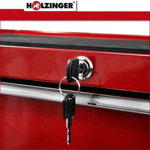 Holzinger Werkzeugwagen HWW1005KG – kugelgelagert (5 Schubfächer) - 3