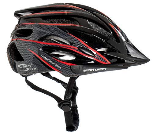 Sport Direct™ Herren Fahrradhelm Team Comp 24 Vent Graphit 58-61 cm CE EN1078:2012+A1:2012 - 8