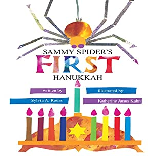 Sammy Spider's First Hanukkah audiobook cover art
