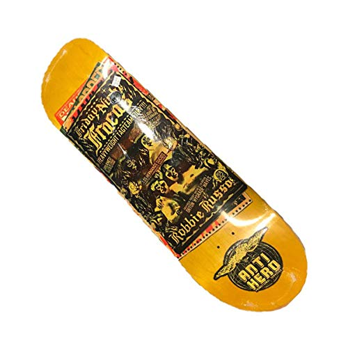 Anti Hero Skateboard-Brett / Deck, 21,6 cm, Russo Friday Night Fracas