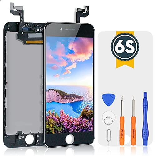 bokman LCD Pantalla para iPhone 6s, Táctil LCD Reemplazo con Herramientas de Reparación(Negro)