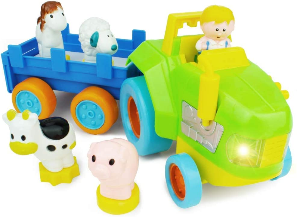 shipfree Boley My First Farm Play Set - Animal and 6 store Tr Piece of