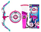 Toysery Bow and Arrow for Kids with LED Flash Lights,Archery...