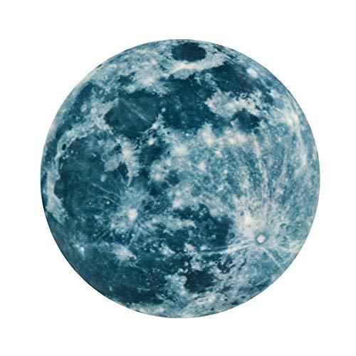 Grote maan (20 cm) om te lijmen, licht in het donker. Lange en sterke helderheid, ideaal voor het plafond of de muur in de kinderkamer, babykamer of slaapkamer. #29
