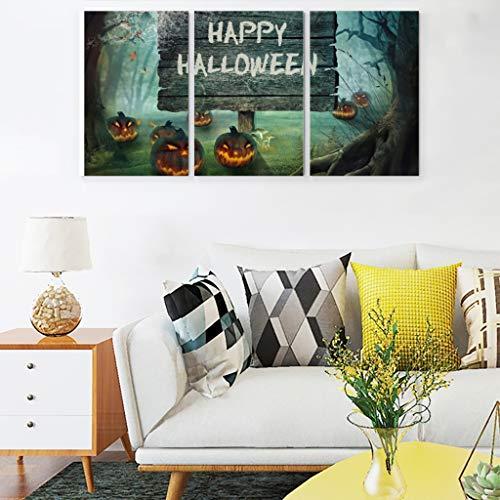 NC83 Pumpkins thematapijt, mooi veelzijdig, wandtapijt, Happy Halloween patroondruk voor wooncultuur