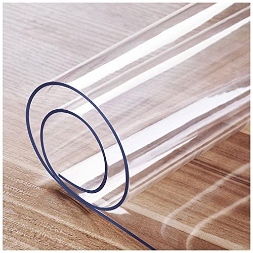 Protecteur De Couverture De Table Transparent, Tapis De Table Anti-Chaud Nappes Transparentes pour Bureau Ordinateur Bureau Canapé Table À Manger 1mm-40x40cm