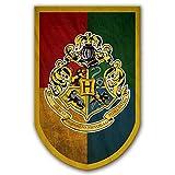 ASFAOK New College Affiche Harry Potter bannière, [96X61CM], Drapeau Poudlard pour Chambre Fournitures Décor Cadeaux pour Enfants