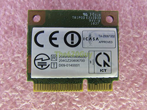 The620Guy HP 588551-001 802.11 b/g/n Wi-Fi WLAN Wireless Half Mini Card WN6602RH RT3090