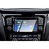 CDEFG para Nissan Qashqai J11 Protector de Pantalla de Vidrio Templado, 7 Inches HD Auto 9H GPS Navi película protegida Glass