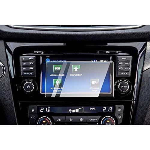 SXCY per Niss*an Qashqai J11 Vetro Tempered Pellicola Protettiva GPS Auto Navigation 7 pollici Vetro Temperato Pellicola Protettiva Schermo Navi Accessori per Interno