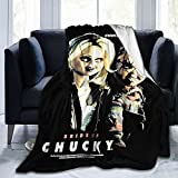 Bride Chucky Gets Lucky Microfiber Blanket,,Ultra-Soft Micro Fleece Blanket, Sofa and Travel ,Super Soft and Comfortable Luxury Sofa Blanket 50'X40'.