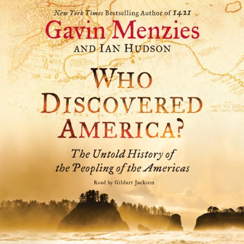 Who Discovered America? audiobook cover art