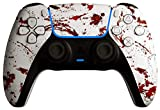 AimControllers Controller PS5 Wireless Personalizzato - Dualsense PS5 - Joystick Sony Playstation 5 - PS5 Controller per PS5 Console - Pad PS5 - Dexter