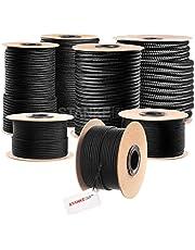 Seilwerk STANKE cuerda de polipropileno trenzada pp negra amarra cuerda trenzada jarcias cuerdas de auxiliar