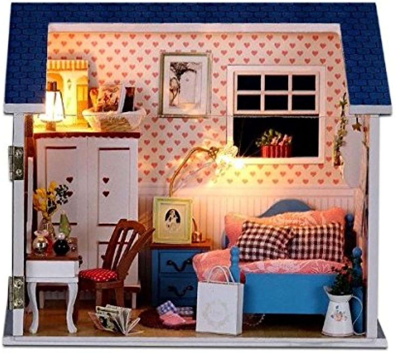 Handmade Dollhouse Kit Set Bedroom (japan import)