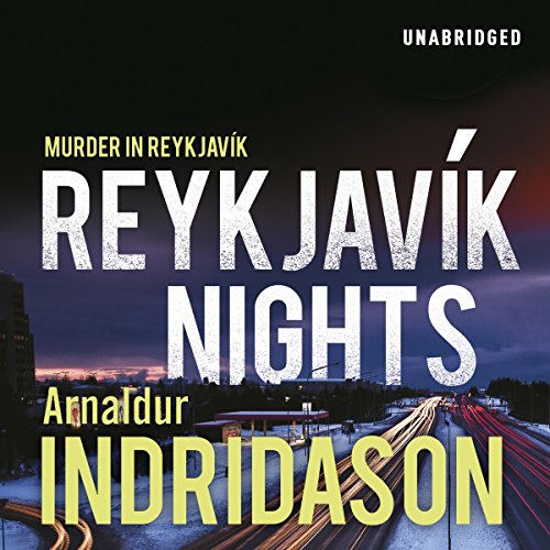 Reykjavik Nights audiobook cover art