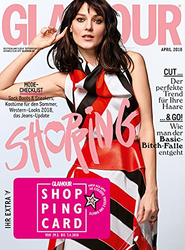 GLAMOUR Shopping Week Ausgabe April inkl. VOGUE T-Shirt (04/2018 - deutsch)