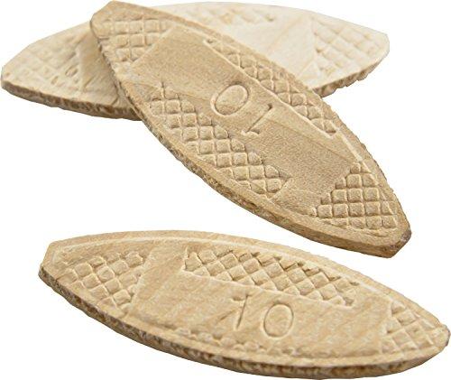 Wolfcraft 2922 Biscuits en bois compressé 3/4 x 2–1/20,3 cm