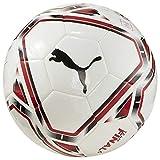 PUMA AC Milan Stagione 2020/21-Final 6 MS Ball White Tango Red Pallone da calcio, Unisex, Multicolore...