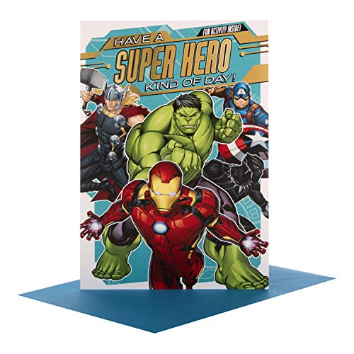Hallmark Avengers Geburtstagskarte