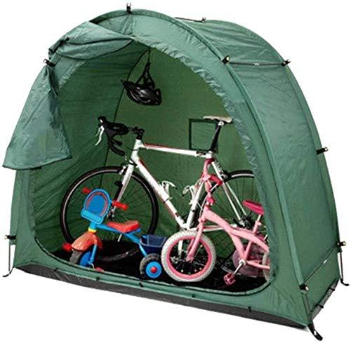 DXDUI Tienda De Almacenamiento De Bicicletas, Almacenamiento Al Aire Libre, Tienda De Campaña De Bicicleta De Montaña, Robusta, Ahorro De Espacio, Impermeable Y Resistente A La Intemperie, para Hogar
