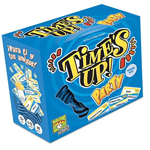 Repos Production-Time's Up-Party 2, color azul (RPTUPA02)