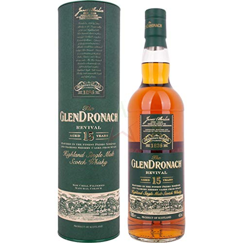Glendronach 15 Jahre Revival Release 2019 Whisky 0,7 L