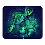 AOHOT Tappetini per Il Mouse Gene Dna Structure on Scientific Test Biotechnology Biochemistry Cell Mouse Pad 9.5' x 7.9' for Notebooks,Desktop Computers Accessories Mini Office Supplies Mouse Mats