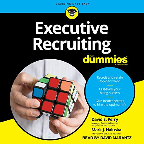 Executive Recruiting for Dummies cover art