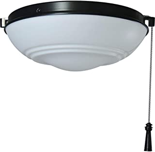 Hampton Bay Raleigh LED Natural Iron Light Kit Ceiling Fan