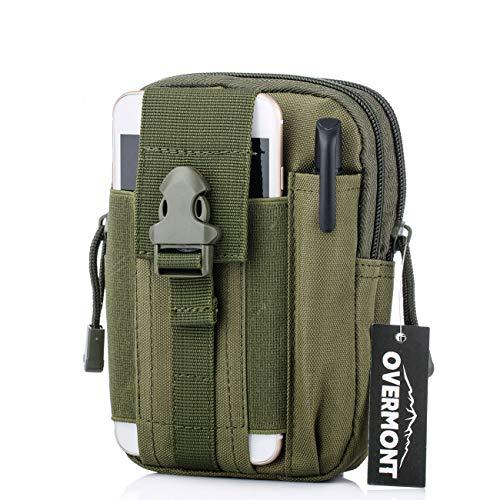 Overmont Multifunktional Taktisch Hüfttasche Gürteltasche Outdoor Sport Tasche Beutel für Camping Wandern Radfahren Klettern und Reisen