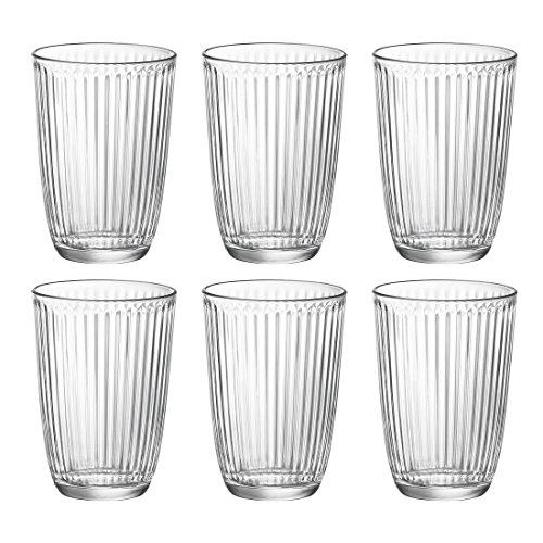 Bormioli Rocco Trinkglas Longdrink, 39 cl, transparent, 6 Stück