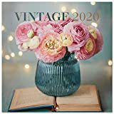 Erik 2020 Wall Calendar for Home or Office, 30 x 30 cm - Vintage