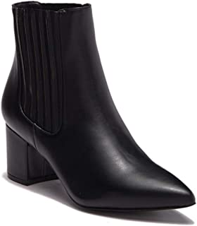 Steve Madden Womens Bound Pointed Toe Ankle Chelsea Boots, Black, Size 6.5