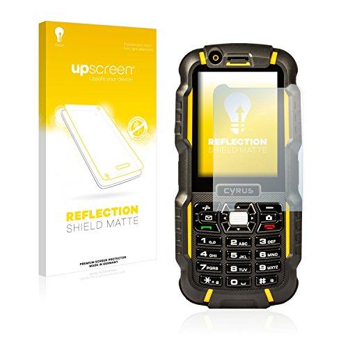 upscreen Entspiegelungs-Schutzfolie kompatibel mit Cyrus cm 15 – Anti-Reflex Bildschirmschutz-Folie Matt