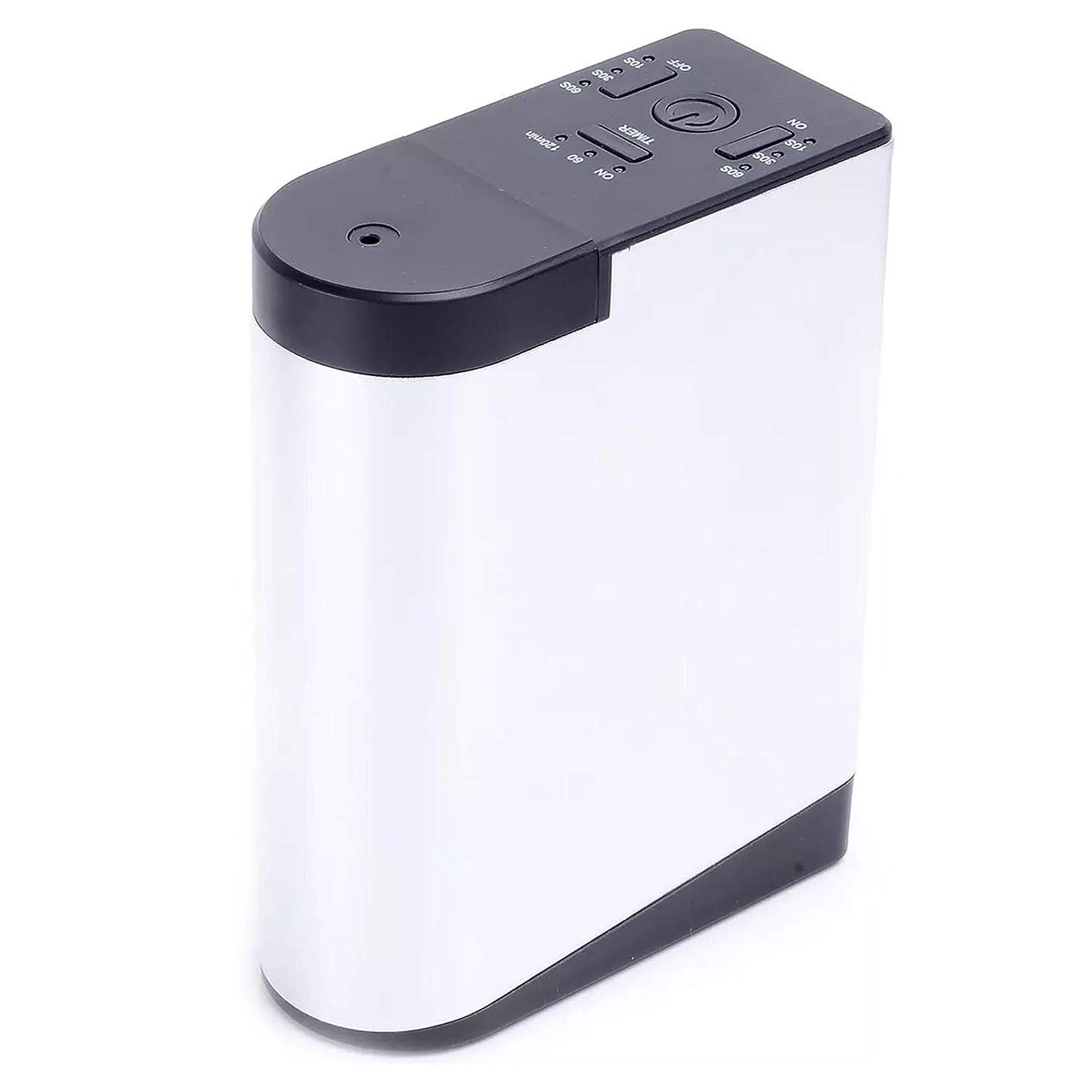 リアルデンマーク要求するアロママシンを持って充電拡香器アロマディフューザー メモリー?タイマー機能 ネブライザー式 精油瓶スポイト付き T11-EN098