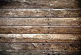 Yeele 10x8ft Backdrops for Photography Retro Brown Wood Plank Vintage Weathered Worn Hardwood Floor Wooden Plank Rustic Retro Backdrop Kids Children Photo Booth Shoot Studio Props