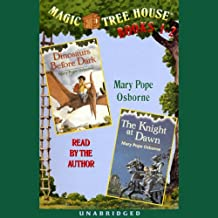 Magic Tree House: Books 1 and 2: Dinosaurs Before Dark, The Knight at Dawn