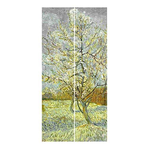 Bilderwelten Cortinas deslizables - Van Gogh 2 Paneles japoneses Montaje para Techo 250x120cm