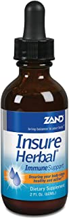 Zand Insure Immune Support | Herbal Liquid Echinacea Supplement | Features Goldenseal, Chamomile, Ginger & Valerian | 2 oz
