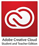 Adobe Student & Teacher Edition Creative Cloud - Validation Required [12-month Plan] [Subscription]