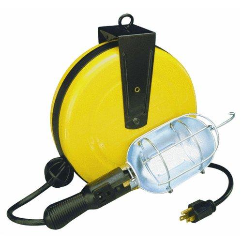 Incandescent Retractable Cord Reel Work Light (5000A-30G)