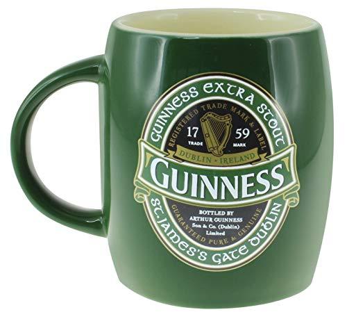 "Grüner Keramikbecher mit Aufdruck ""St. James' Gate"" - ""Guinness Ireland""-Kollektion"