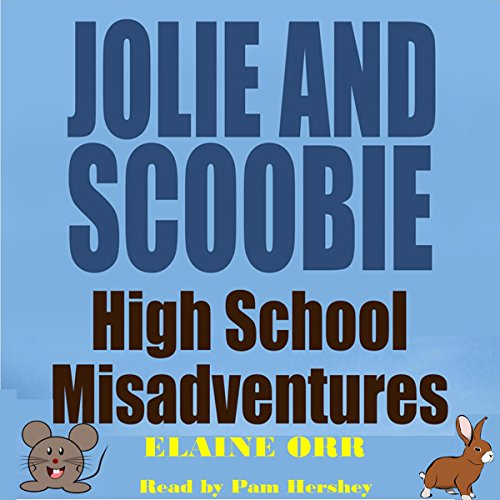 Jolie and Scoobie High School Misadventures audiobook cover art