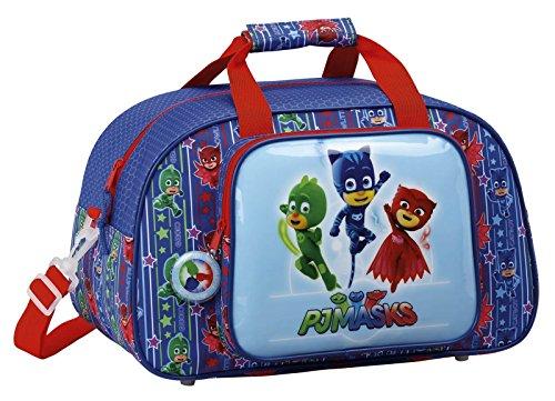 PJ Masks Sport Bag,Holiday Bag,Shoulder Bag, Official Licensed (40cm/15.5')